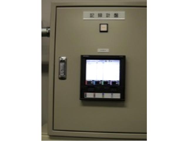 温度・湿度の記録計盤