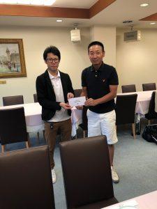 準優勝は師岡さん(写真右)でした。さすがに日頃の精進の賜物ですね。