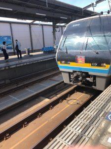 いよいよ宇多津駅から土讃線で高地に向かいます。特急南風13号で四国山地を縦断です。