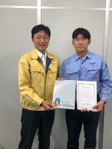 「シンコウミライちゃん」の生みの親である宇梶さんです。本当に素晴らしい作品をありがとう。